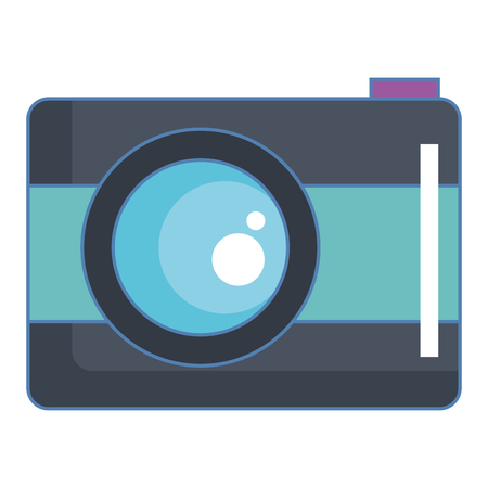 Camera isolated icon vector illustration design Ilustracja