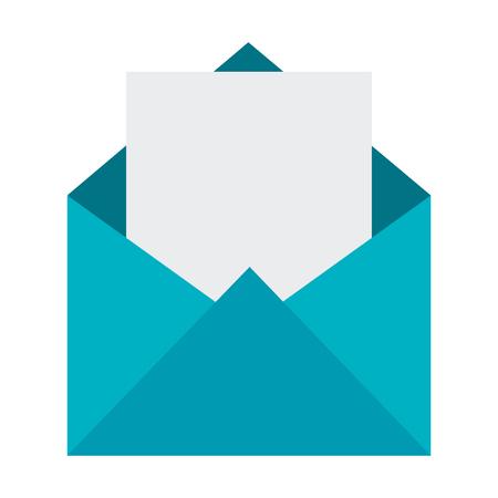 Mail envelope isolated icon vector illustration design Illustration