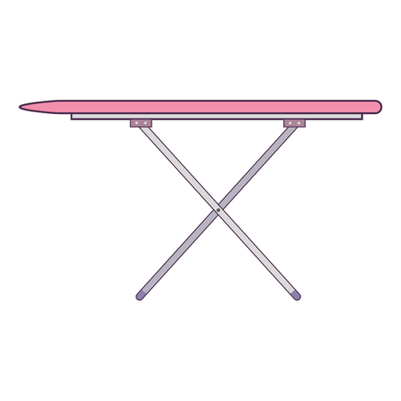 ironing board isolated icon vector illustration design Ilustracja