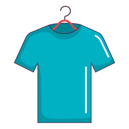 shirt hanging in hook vector illustration design Фото со стока - 90540849
