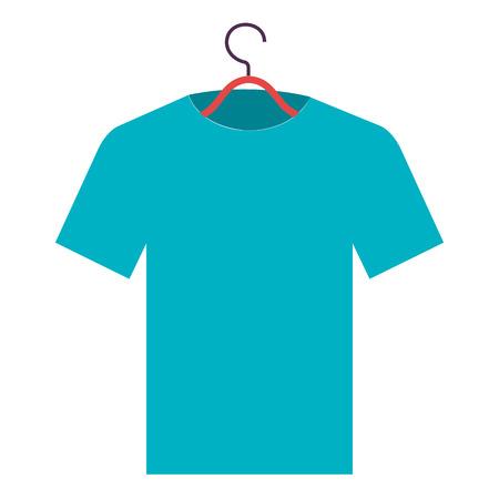 shirt hanging in hook vector illustration design Фото со стока - 90398721