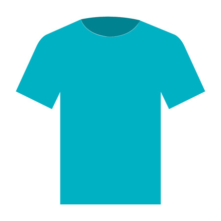 cotton casual tshirt icon vector illustration design Stock Vector - 90398733