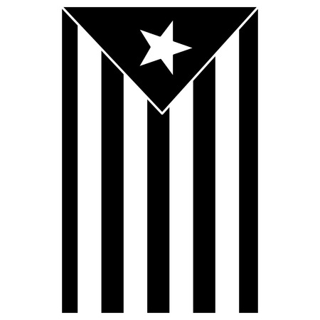 catalunya flag icon image vector illustration design  black and white Foto de archivo - 90401306