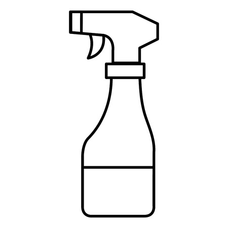 spray bottle isolated icon vector illustration design Illustration