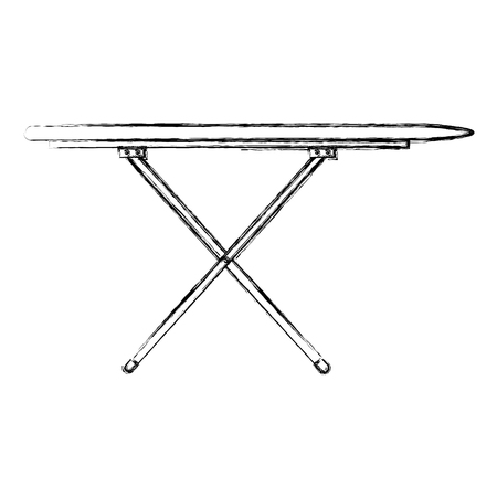 ironing board isolated icon vector illustration design Çizim