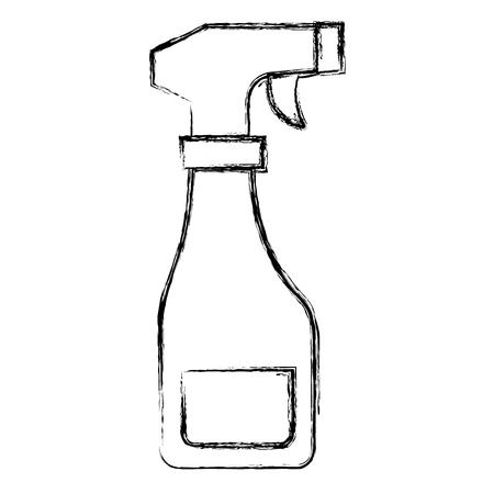 スプレーボトル絶縁アイコンベクトルイラストデザイン  イラスト・ベクター素材