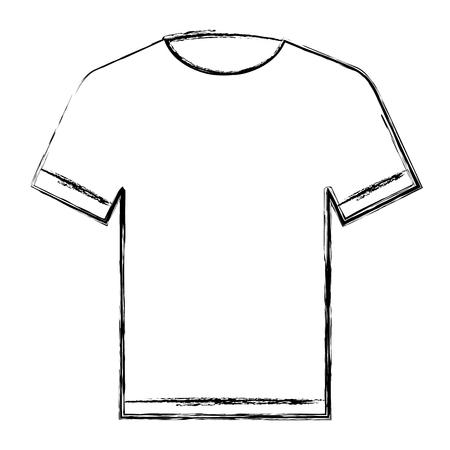 cotton casual tshirt icon vector illustration design Stock Vector - 90399362