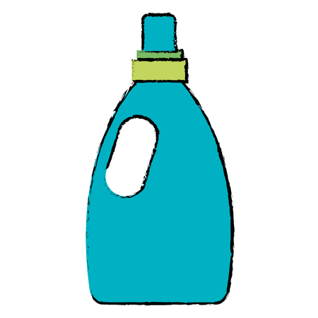 bottle laundry product icon vector illustration design