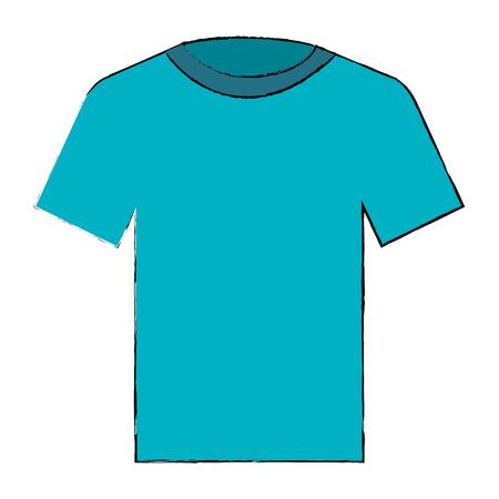 cotton casual tshirt icon vector illustration design Stock Vector - 90540618