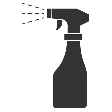 spray bottle isolated icon vector illustration design Stock Illustratie