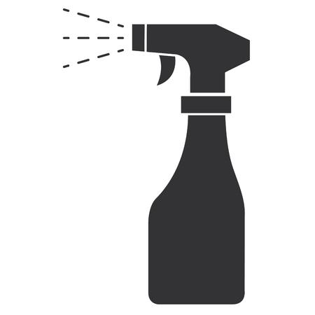 Spuitfles geïsoleerde pictogram vector illustratie ontwerp Stockfoto - 90403227