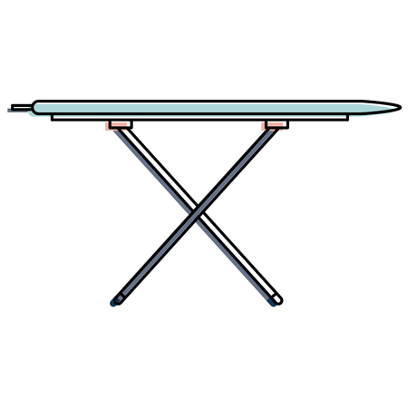 ironing board isolated icon vector illustration design Vectores
