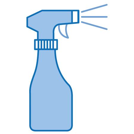 spray bottle isolated icon vector illustration design  イラスト・ベクター素材