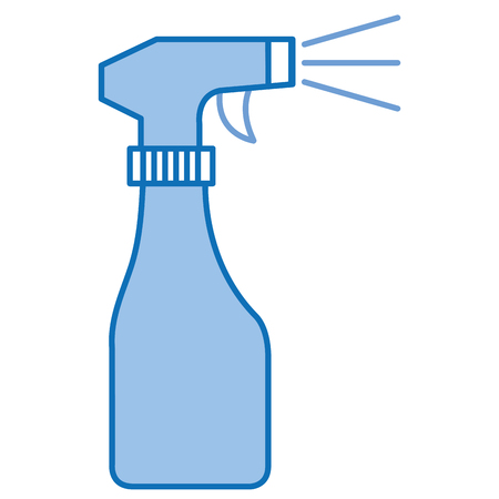 spray bottle isolated icon vector illustration design Ilustrace