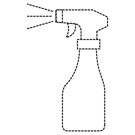 spray bottle isolated icon vector illustration design Ilustrace