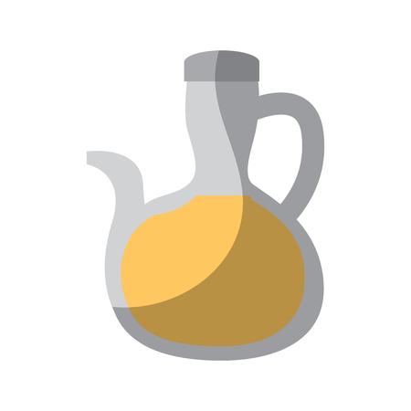 olive oil bottle icon image vector illustration design