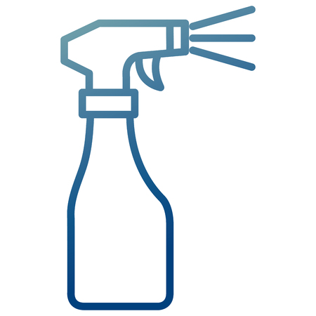 spray bottle isolated icon vector illustration design Vettoriali