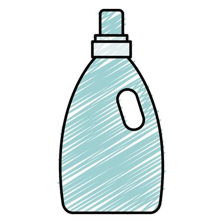 ボトルランドリー製品アイコンベクトルイラストデザイン  イラスト・ベクター素材
