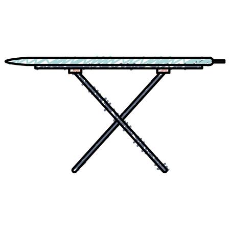 ironing board isolated icon vector illustration design Illustration