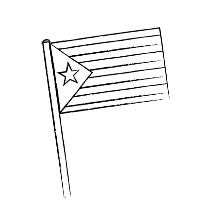 flag with star and stripes icon image vector illustration design Фото со стока - 90402093