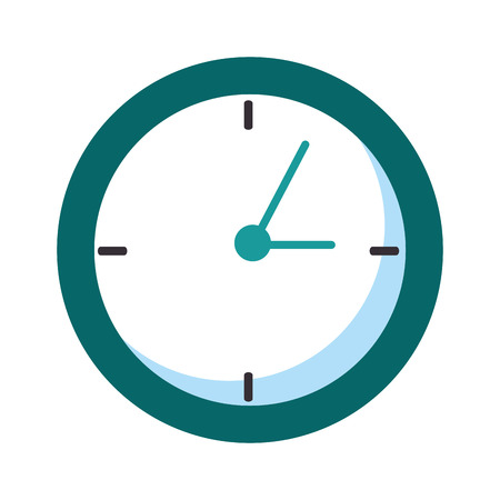time clock isolated icon vector illustration design 版權商用圖片 - 90406887