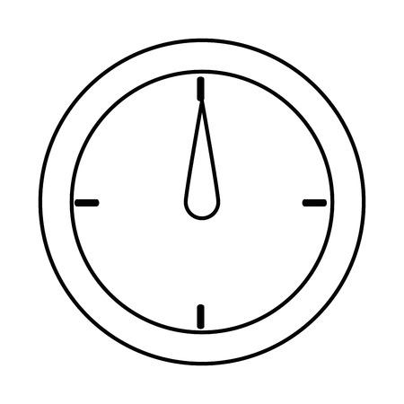 測定ゲージ分離アイコンベクトルイラストデザイン