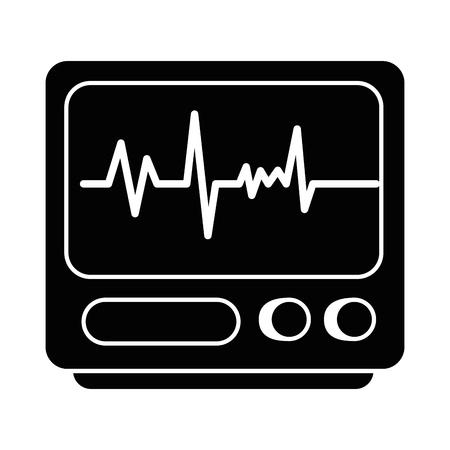 심전계 기계 절연 아이콘 벡터 일러스트 디자인 스톡 콘텐츠 - 90406714
