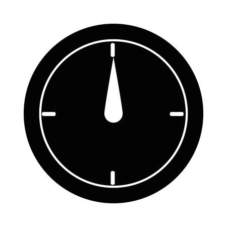 Calibre de medida isolado ícone vector ilustração design Foto de archivo - 90406718