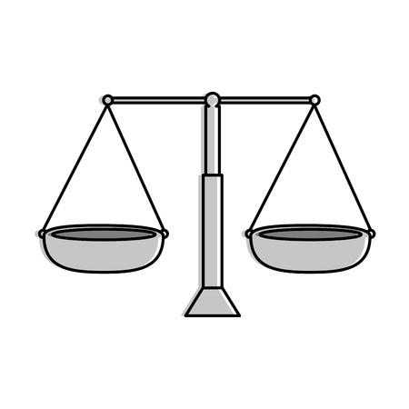 균형 측정 절연 아이콘 벡터 일러스트 레이 션 디자인 스톡 콘텐츠 - 90406761