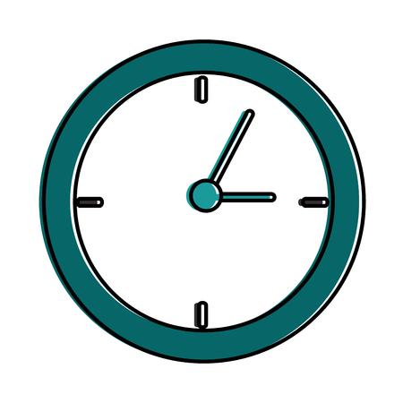 time clock isolated icon vector illustration design 版權商用圖片 - 90407221