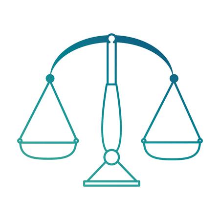 Balance measure isolated icon vector illustration design Stok Fotoğraf - 90452003