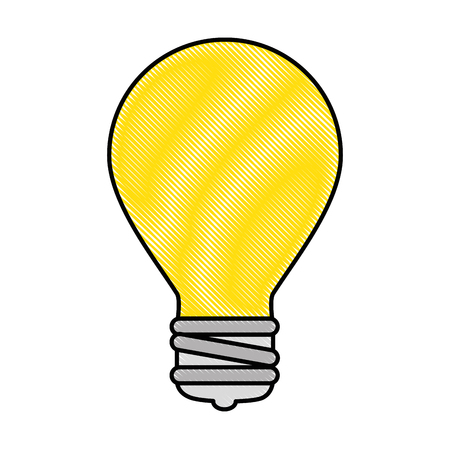 Bulb light isolated icon vector illustration design Banco de Imagens - 90455958