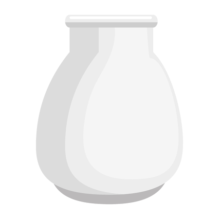 Glass jar isolated icon vector illustration design 向量圖像