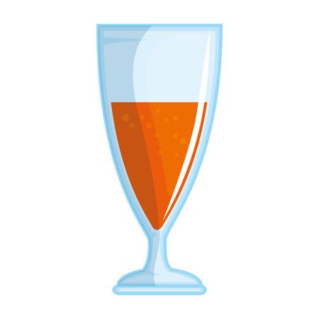 Kop van vector de illustratieontwerp van het champagnepictogram
