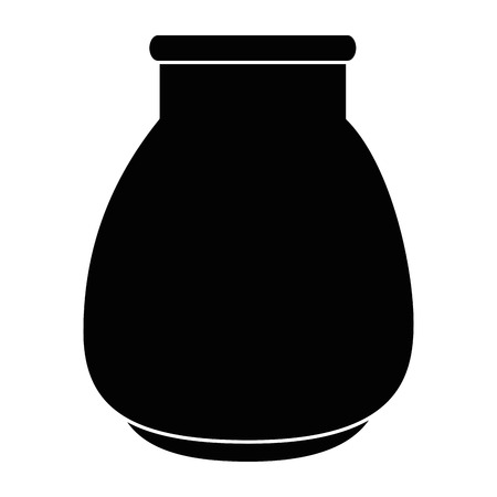 Glass jar isolated icon vector illustration design 일러스트