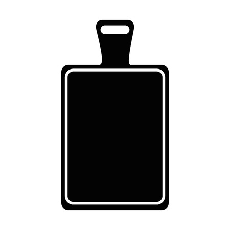 Kitchen board isolated icon vector illustration design Stock Vector - 90454531