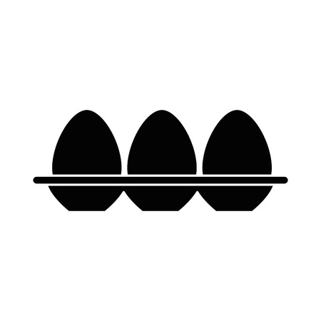 Eggs carton isolated icon vector illustration design Фото со стока - 90454542