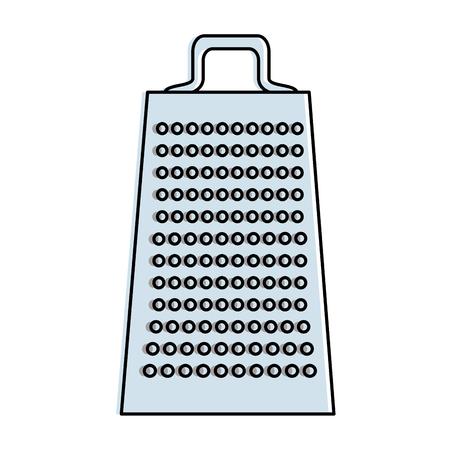 キッチンおろし器孤立アイコンベクトルイラストデザイン  イラスト・ベクター素材
