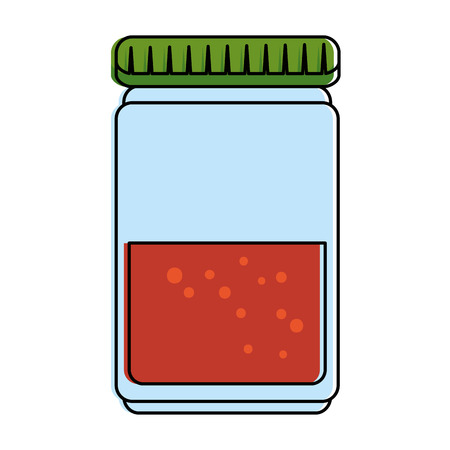 Spices bottle isolated icon vector illustration design