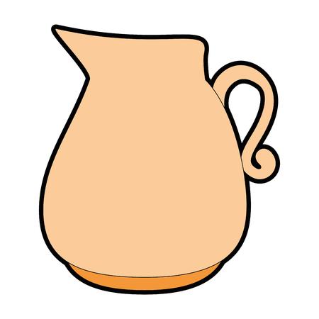 Glass jar isolated icon vector illustration design 向量圖像