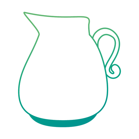 Jarra de vidro isolado ícone vector ilustração design Foto de archivo - 90455673