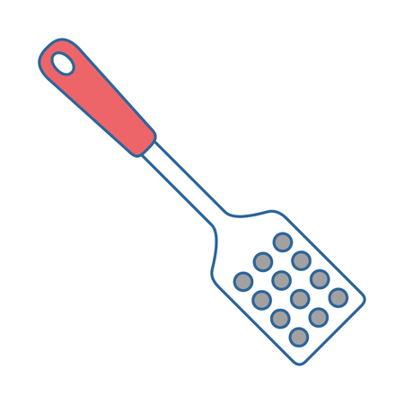 spatula cutlery isolated icon vector illustration design