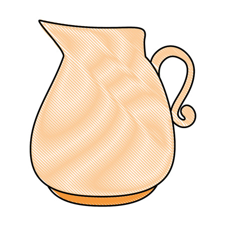 glazen pot geïsoleerd pictogram vector illustratie ontwerp
