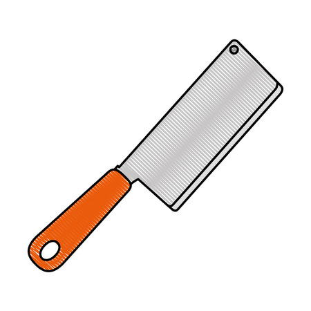 kitchen ax isolated icon vector illustration design Ilustrace