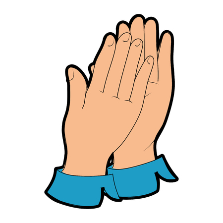 hands applauding isolated icon vector illustration design Banco de Imagens - 90472378