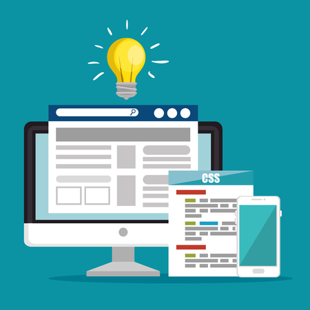 website under construction background vector illustration graphic design