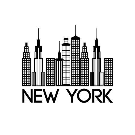 new york city scene vector illustration design Stock Vector - 90474531