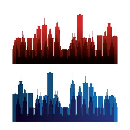 new york city scene vector illustration design Stock Vector - 90474566