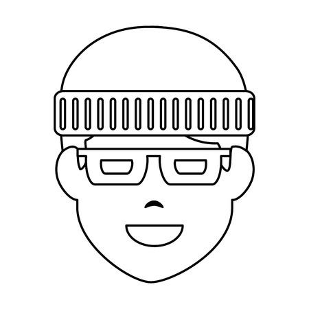 thief avatar character icon vector illustration design Stock Vector - 90511899