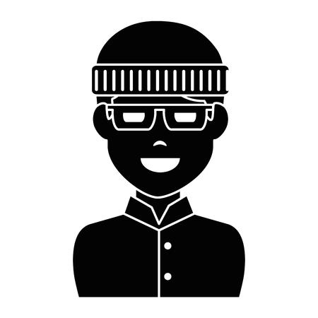 Dieb avatar Charakter Symbol Vektor-Illustration Design Standard-Bild - 90514137